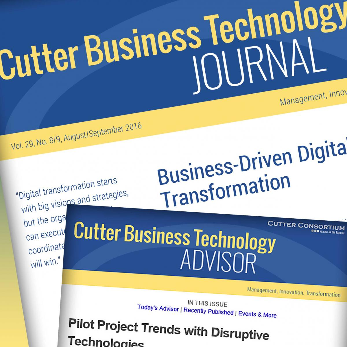 Cutter IT Journal