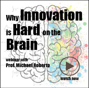 Innovation is Hard on the Brain