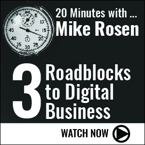 3 Roadblocks to Digital Business