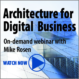 Architecture for Digital Business webinar
