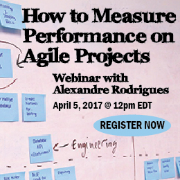 How to Measure Performance on Agile Projects webinar